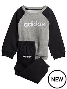 adidas-infant-linear-jog-suit