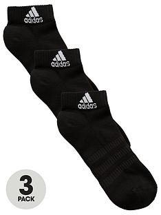 adidas-cushioned-ankle-socks-black-3-pack