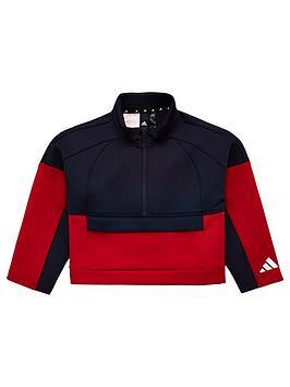 adidas-youth-id-colour-block-track-top-navyredwhite