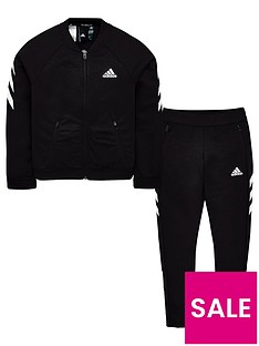 adidas-youth-xfg-tracksuit-blackwhite