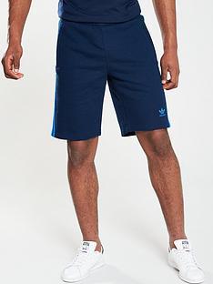 adidas-originals-3-stripe-shorts-navy