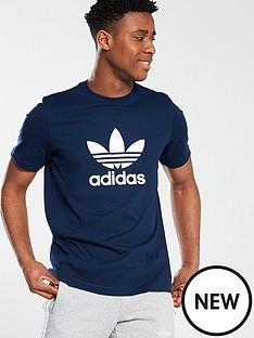 adidas-originals-trefoil-t-shirt-navy