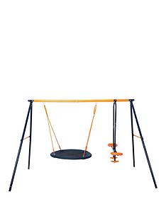 hedstrom-nest-swing-amp-glider-outdoornbspmultiplaynbspset