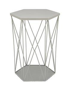 wire-storage-basket-table-grey