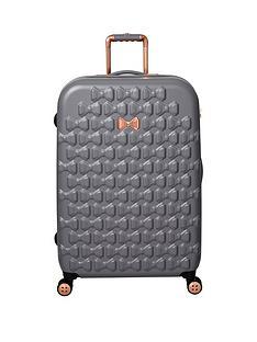 ted-baker-beau-large-4-wheel-suitcase-grey