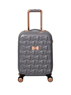 13fff32cd500ed Ted Baker Beau Small 4 Wheel Suitcase Grey