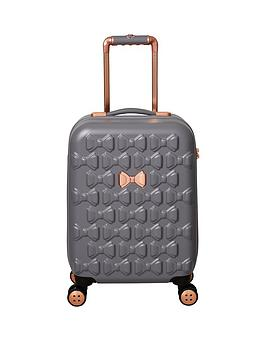 59fa160531c4fc Ted Baker Beau Small 4 Wheel Suitcase Grey. View larger