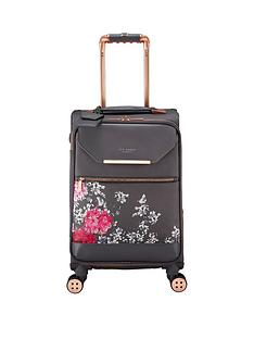 ted-baker-albany-small-4-wheel-suitcase-babylon-gry