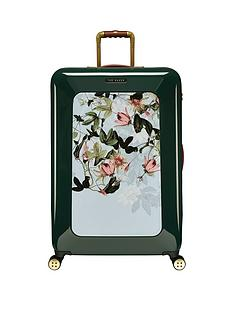 ted-baker-take-flight-large-4-wheel-suitcase-illusion-grn