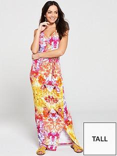v-by-very-tall-wrap-split-jersey-maxi-dress-multi