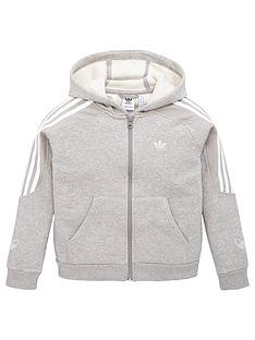 adidas-originals-youth-outline-hoodie-greywhite