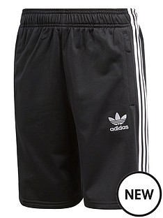 adidas-originals-childrensnbspshorts-blackwhite