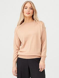 v-by-very-button-shoulder-crew-neck-jumper-light-camel