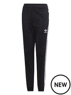 adidas-originals-youth-superstar-pants-blackwhite
