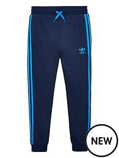 adidas-originals-youth-trefoil-pants-navyblue