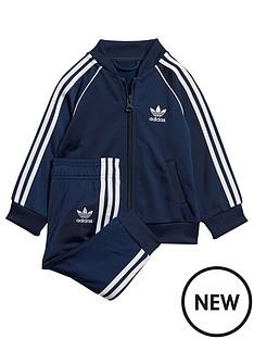 adidas-originals-infant-superstar-tracksuit-navywhite