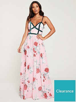 u-collection-forever-unique-floral-maxi-dress-with-contrast-piping-pink