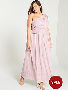 little-mistress-curve-one-shoulder-corsage-maxi-dress-rose