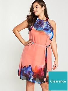 little-mistress-curve-racer-back-neck-floral-chiffon-mini-shift-dress-print