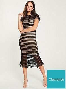 u-collection-forever-unique-lace-midi-dress-black
