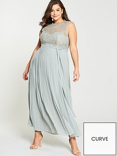little-mistress-curve-lace-pleated-skirt-maxi-dress-waterlily