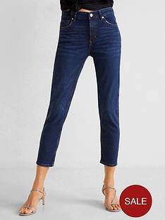 mango-grace-kick-flare-jeans-dark-wash