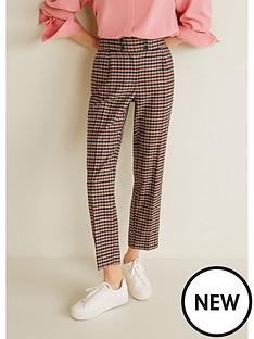 mango-check-trouser