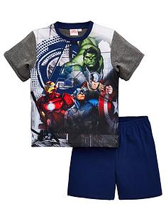 the-avengers-boys-shorty-pyjamas-multi