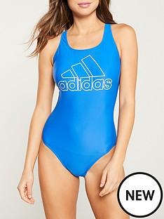adidas-fit-logo-swimsuit-bluenbsp