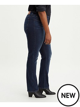 7d474654ba3 Levi s Plus 314 Pl Shaping Straight Jeans