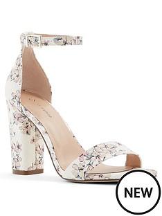 0caea6e8f461 CALL IT SPRING Vegan Tayvia Heeled Sandals - White