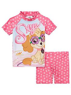 paw-patrol-girls-skye-swim-set-pink