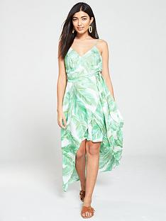 v-by-very-wrap-dipped-maxi-dress-leaf-print