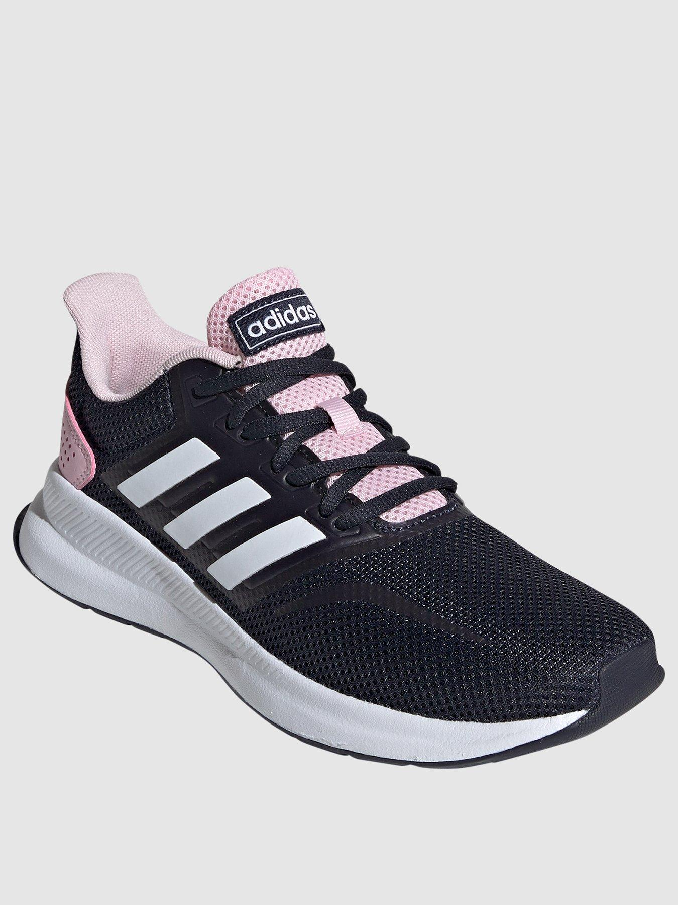 ladies blue adidas trainers