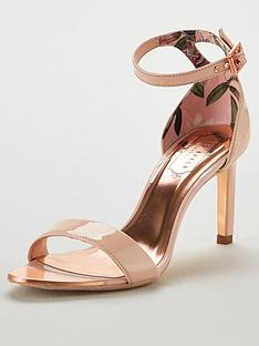 1a9cf00c86a Ted Baker Ulanii Heeled Sandals - Nude