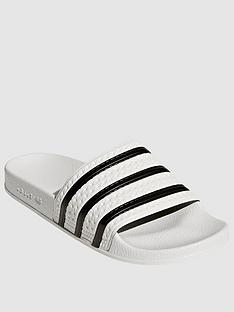 adidas-originals-adilettenbsp--whitenbsp