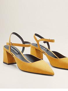 mango-block-heel-pointed-shoe-yellow