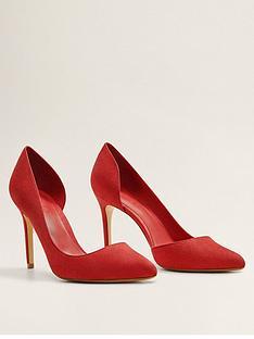 8e3800464a68 Mango Audrey Court Shoes - Red