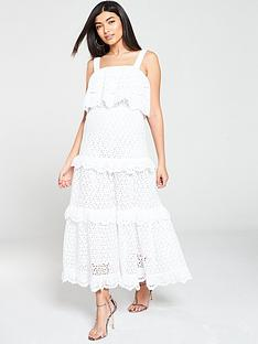 v-by-very-broderie-tiered-midaxi-dress-ivory