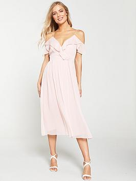 v-by-very-cold-shoulder-woven-midi-dress-blush