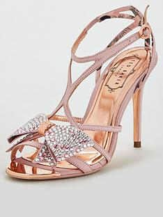 1d639df0620 Ted Baker Arayi Bow Heeled Sandals - Pink