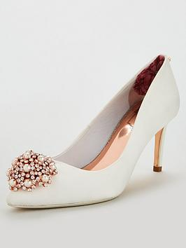 a5e863f8dc9 Ted Baker Dahrlin Court Shoes - Ivory