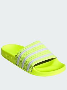 adidas-originals-adilettenbsp--yellowwhite