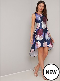 chi-chi-london-marigold-dip-hem-floral-prom-dress-navy