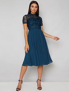 chi-chi-london-veronica-lace-top-midi-dress-green