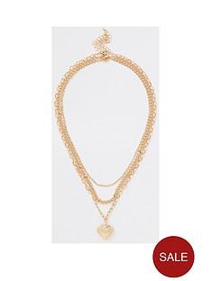 river-island-river-island-heart-locket-necklace-silver
