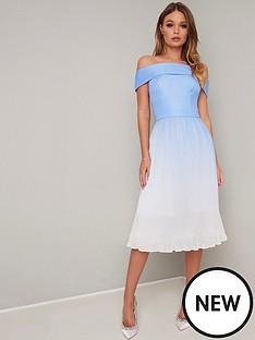 chi-chi-london-mireya-bardot-dress-blue