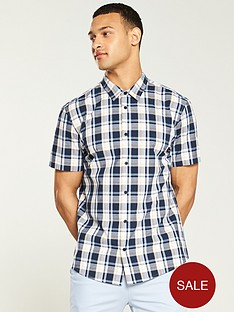 v-by-very-short-sleeve-check-shirt-multi