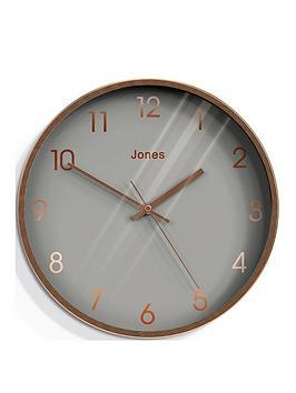 jones-clocks-fame-copper-wall-clock