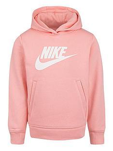 nike-childrens-nsw-fleece-overhead-hoodie-pink